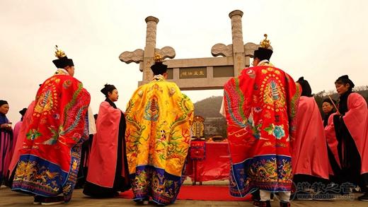 茅山乾元观举行神像开光祈福法会