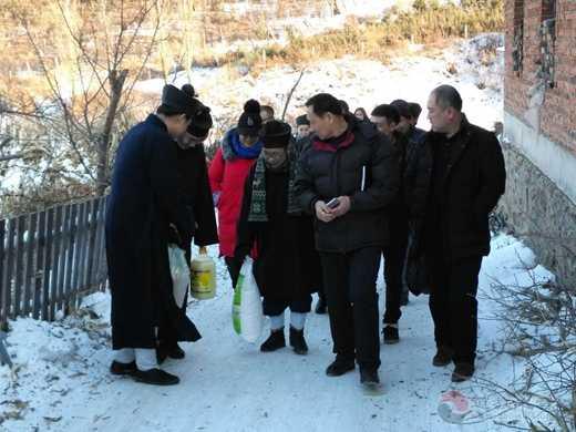 吉林省通化市道教协会春节前夕慰问困难群众