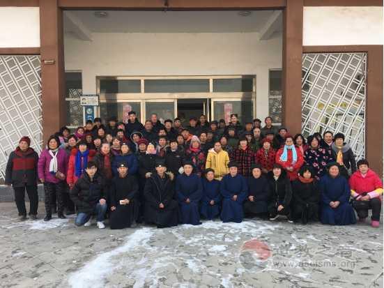 河南省开封市通许县道教协会召开新年座谈会暨文化讲座