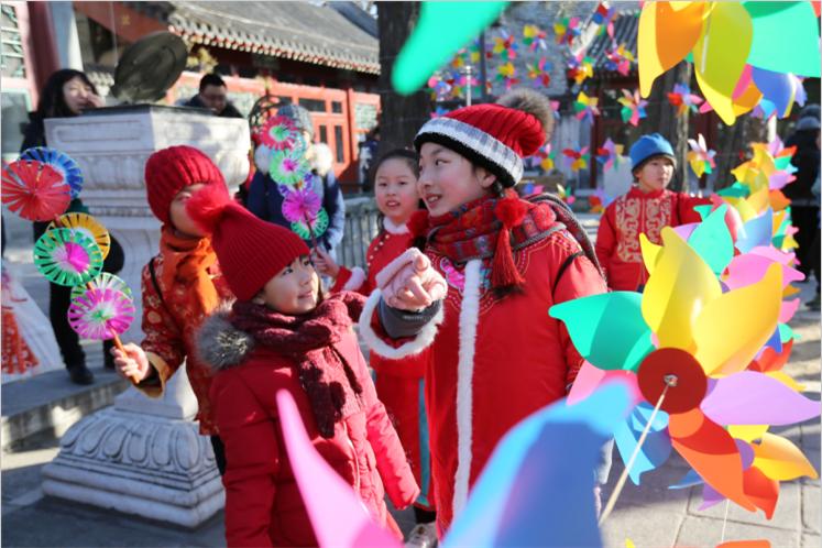 """传统民俗再现京城!北京""""打春牛""""习俗迎立春"""