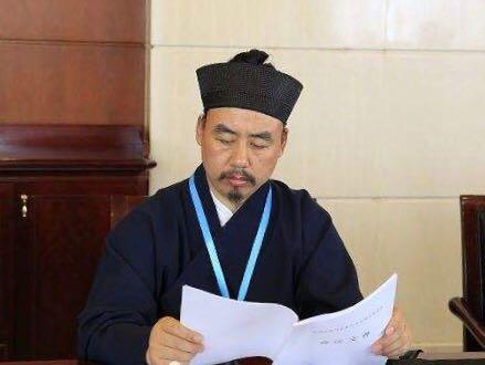 中国道协副会长、山东省道协会长张诚达道长2018年新年祝福