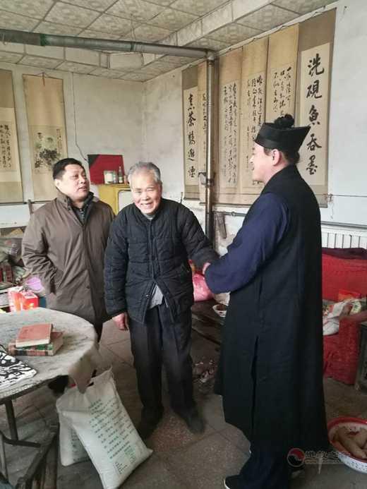 山东省聊城市道教协会2018年新春慰问掠影