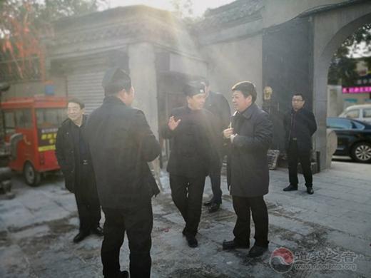 淮安市副市长肖进方、宗教局局长许夕保访问淮安市道协