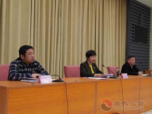 山东省肥城修真宫道众受邀参与肥城市五大年夜宗教座谈会