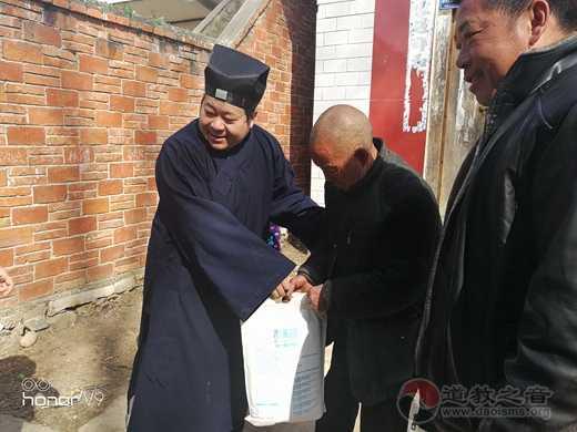 河南省南阳市道教协会积极开展春节扶贫慰问送温暖活动