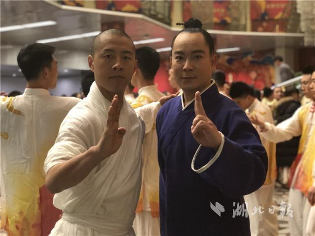 武当武术首上央视春晚 清风子上演《双雄会》