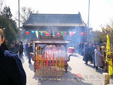 北京市佑民观举行