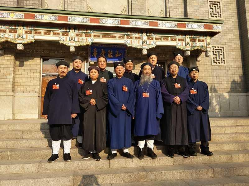 2018全国两会的道教界人士(图集