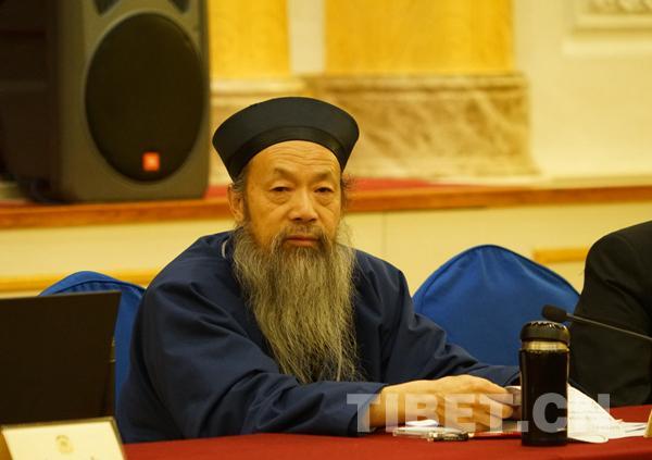 全国政协委员、中国道教协会会长李光富道长