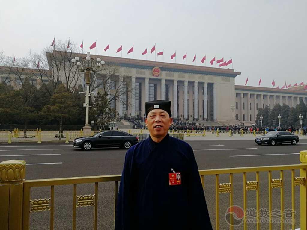 全国政协委员、中国道教协会副会长兼秘书长张凤林道长