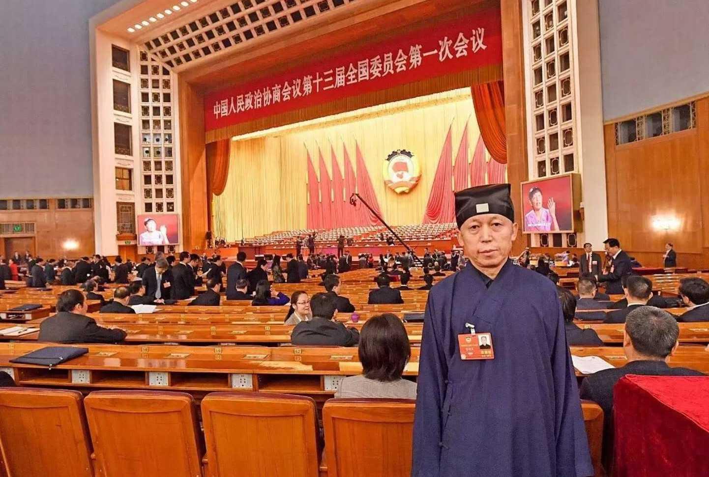 董沛文:最大限度的发挥宗教的积极作用和被占据宫观的管理权限交接问题