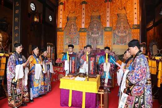 """上海城隍庙举行""""玄元降圣节""""活动纪念道祖圣诞2"""