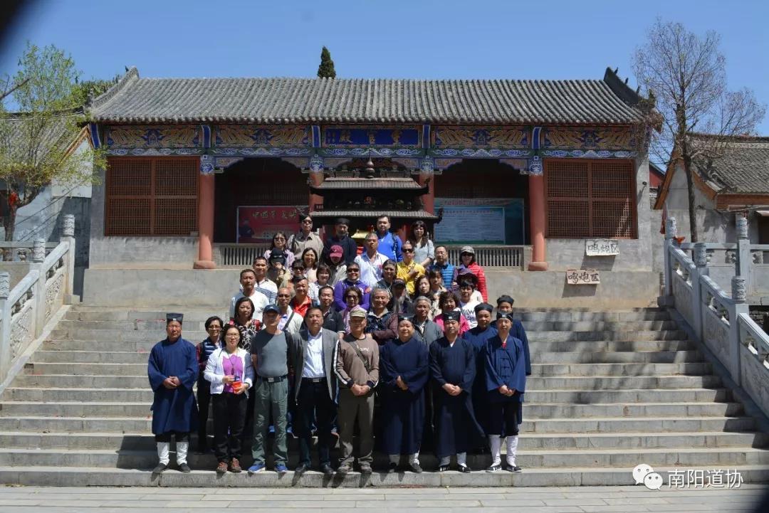 台湾道教界代表人士来宛参访交流1