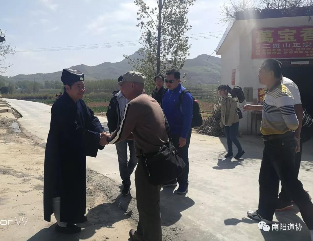 台湾道教界代表人士来宛参访交流7
