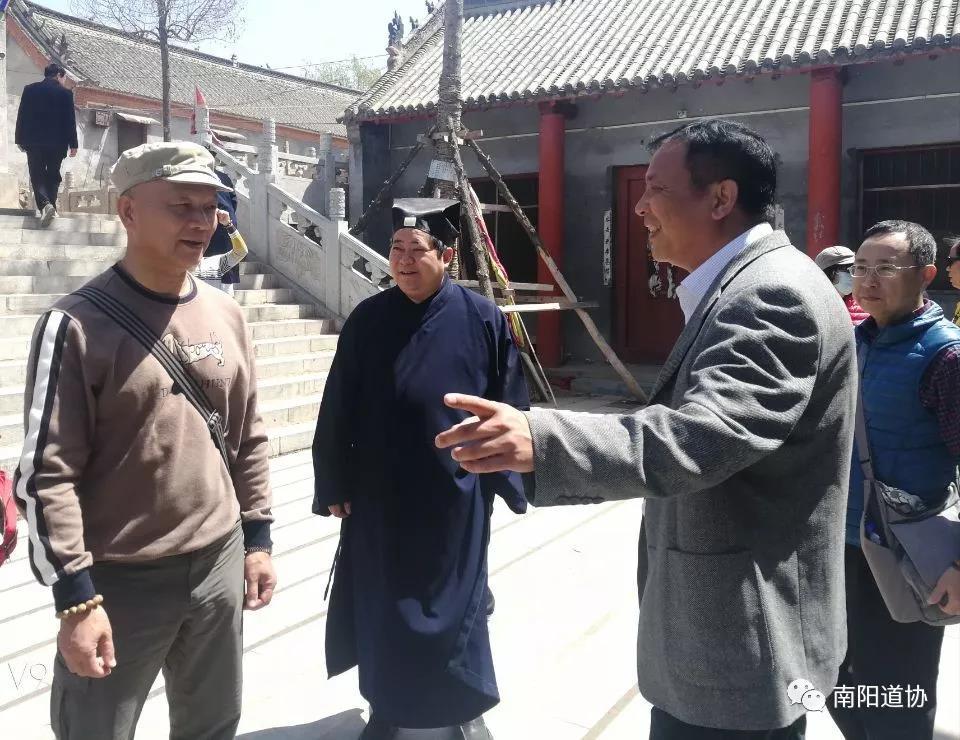 台湾道教界代表人士来宛参访交流8