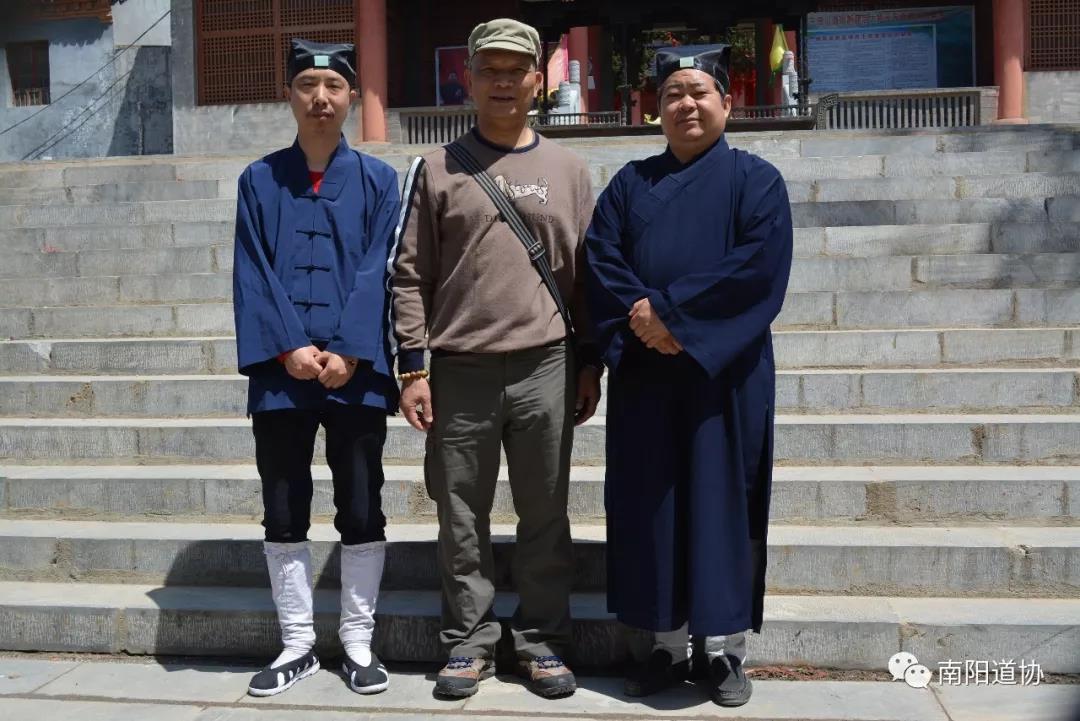 台湾道教界代表人士来宛参访交流9