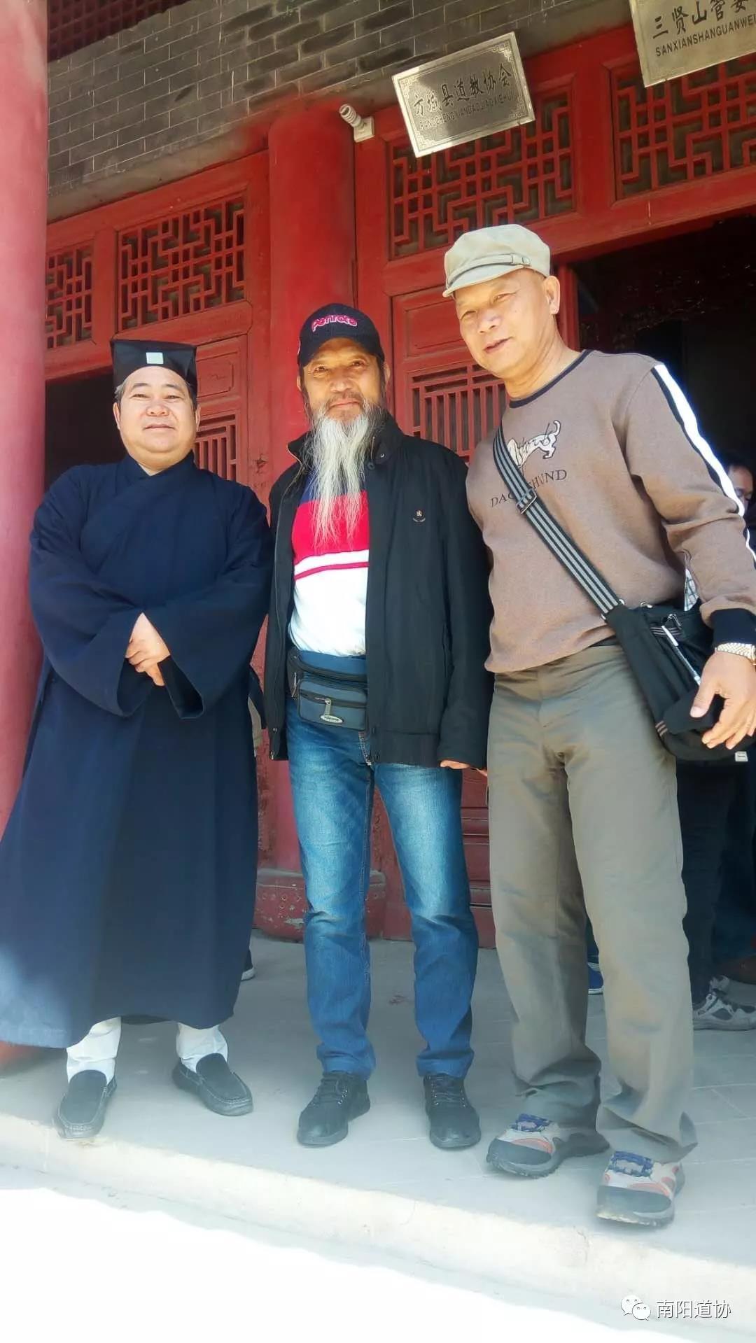 台湾道教界代表人士来宛参访交流10