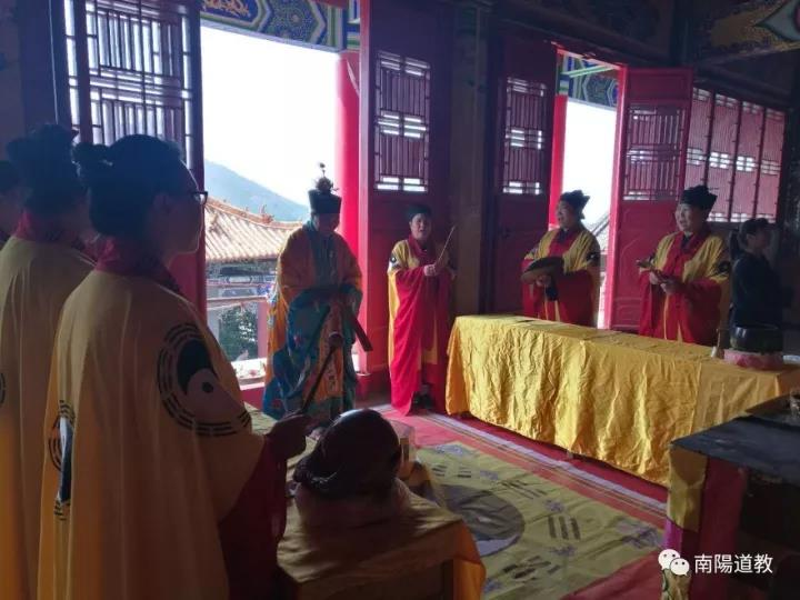 台湾道教界代表人士来宛参访交流12