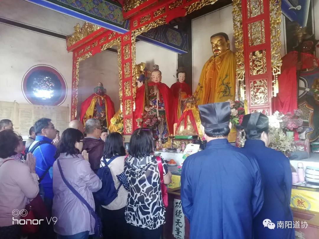 台湾道教界代表人士来宛参访交流15