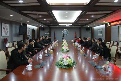 中国道教协会道家书画院与北京世纪名人国际书画院携手举办联谊会