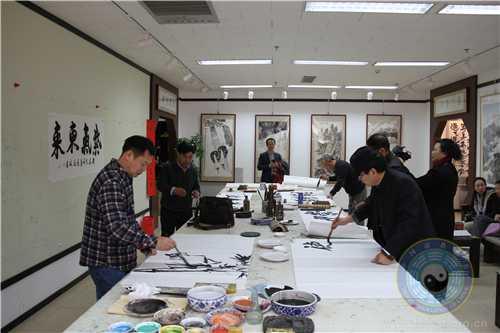 中国道教协会道家书画院与北京世纪名人国际书画院携手举办联谊会2