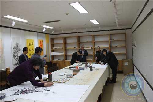 中国道教协会道家书画院与北京世纪名人国际书画院携手举办联谊会3