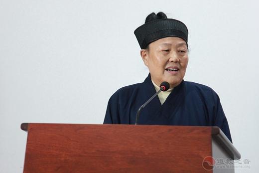 吴诚真方丈在88级坤道培训班30周年座谈会上赋词