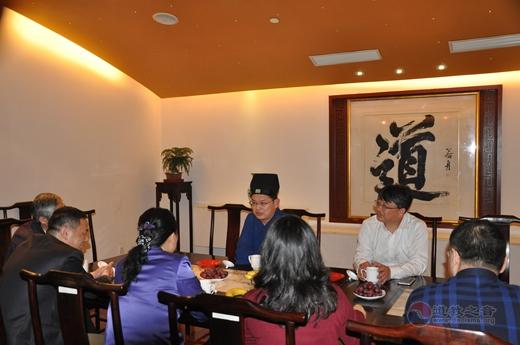 广东省民宗委学习考察团到上海城隍庙参访