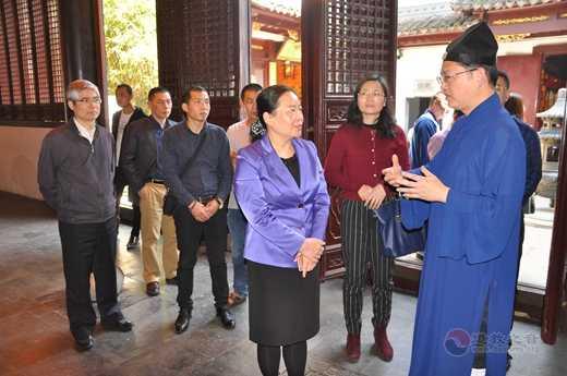 广东省民宗委学习调查团到上海城隍庙参访