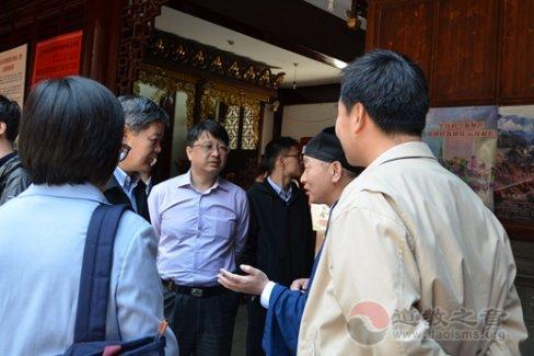 原国家宗教局一司司长王健至上海走访调研