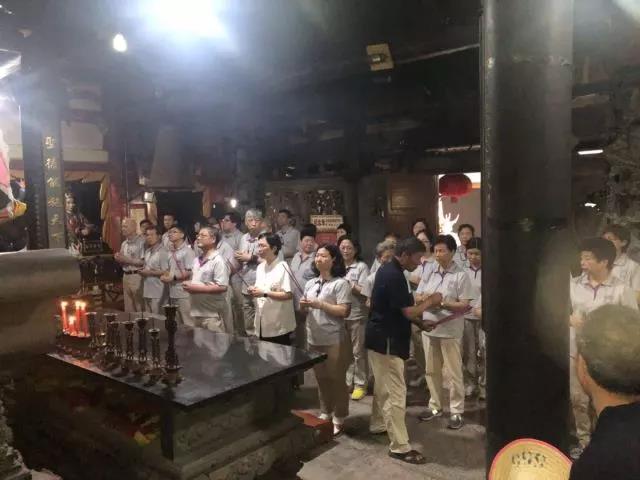 首届海峡两岸(闽清)张圣君文化节即将举行!节前金沙张圣君祖殿迎来台湾信众谒祖进香和交流访问