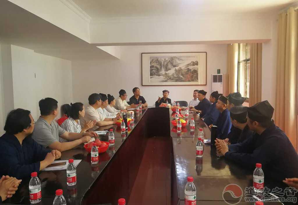 河北省道教协会组织学员参访南岳坤道学院