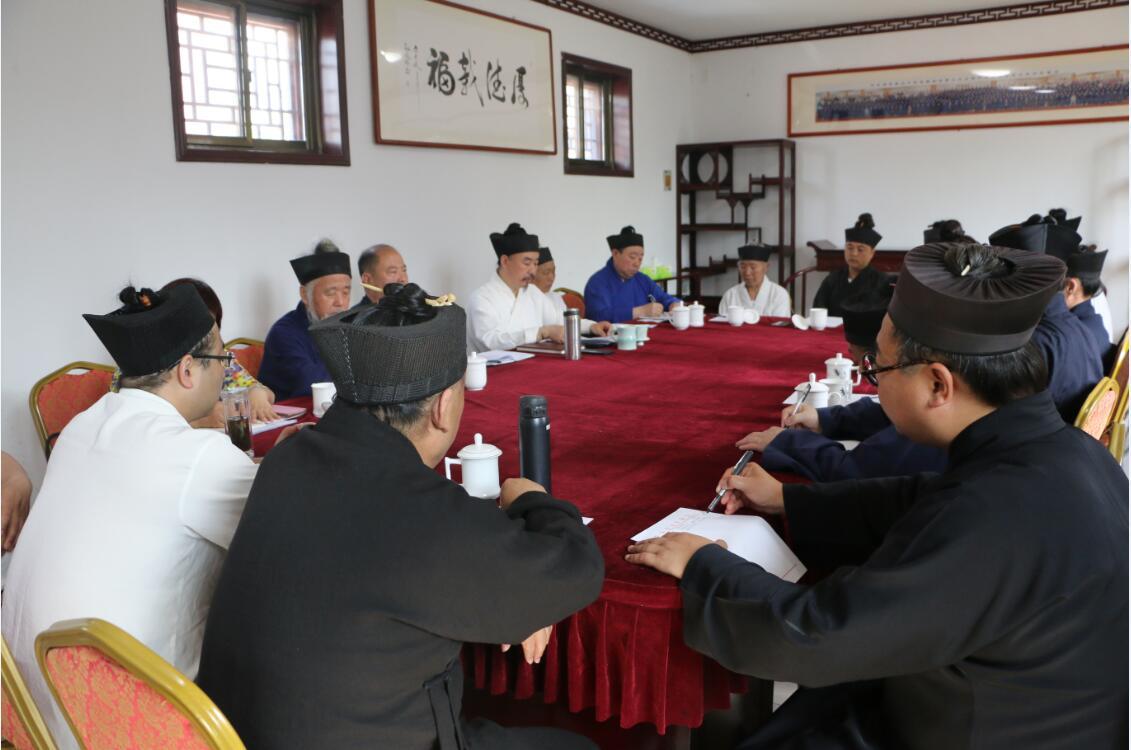 山东省泰安市道教协会召开常务理事扩大会议
