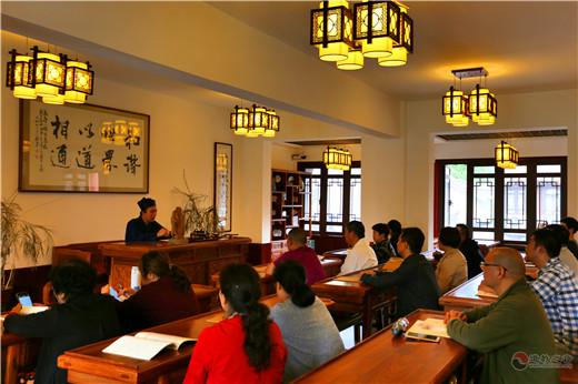 陕西西安八仙宫举办庆贺吕祖圣诞第四期传统文化讲座