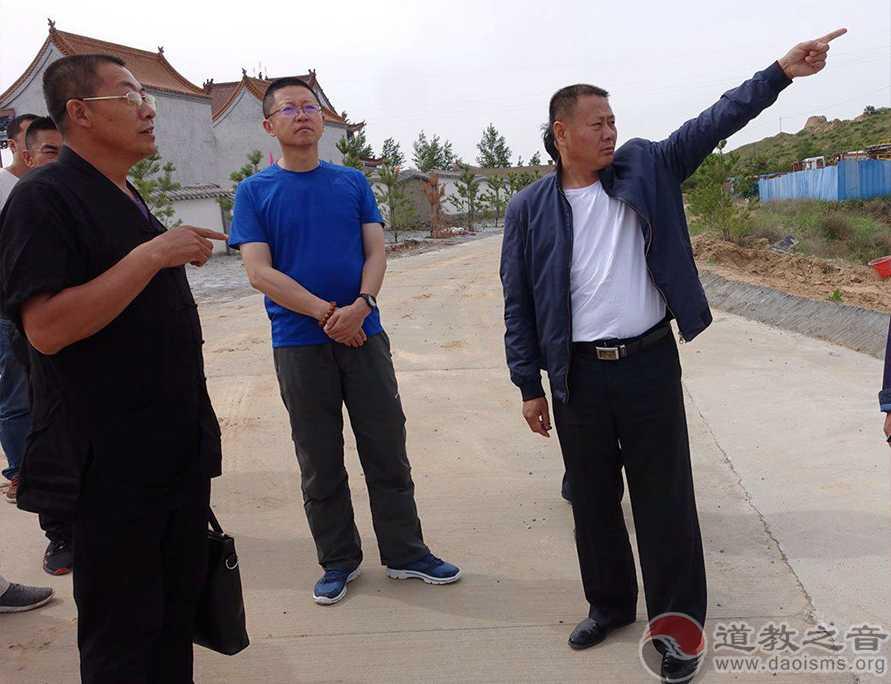 陕西榆阳区道协要求大墩山老爷庙办好蒙汉传统庙会