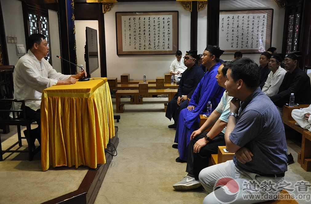 山西省道教协会代表团到上海城隍庙参访交流