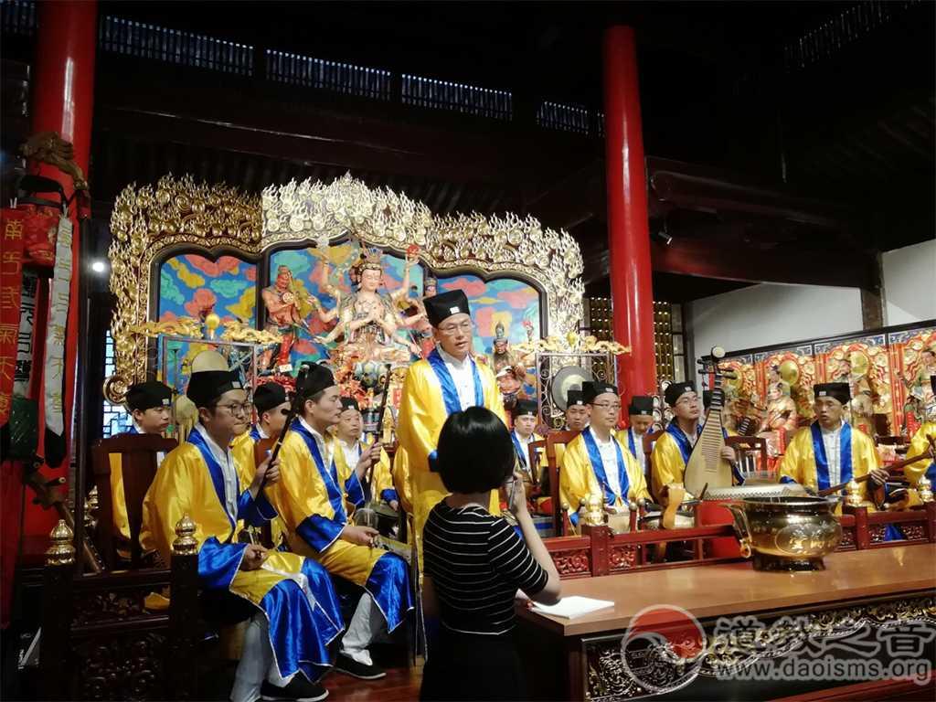 中东欧国家作曲家到访苏州玄妙观聆听姑苏仙乐