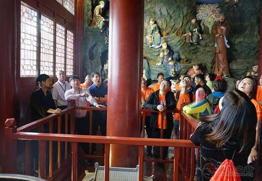 吉林市工商联一行六十余人到玄帝观参访交流