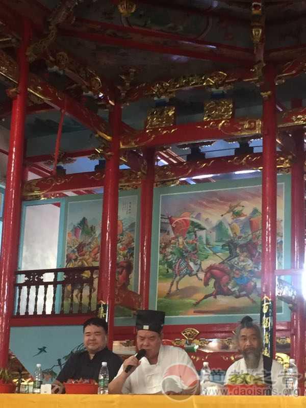 海安城隍道院举办《玉皇福》活动