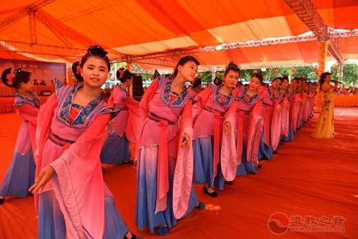 陆丰祭典团传播妈祖祭祀礼仪