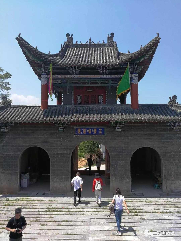 江苏省道协副会长李纯明道长一行18人至南阳参访