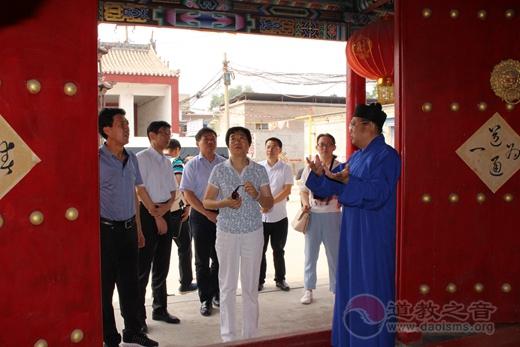 江苏镇江人大常委会考察团往赴太原市道协考察宗教工作