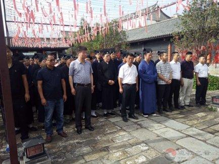 云南省道教协会在建水开展爱国主义教育暨宗教政策法规学习及爱心助学活动