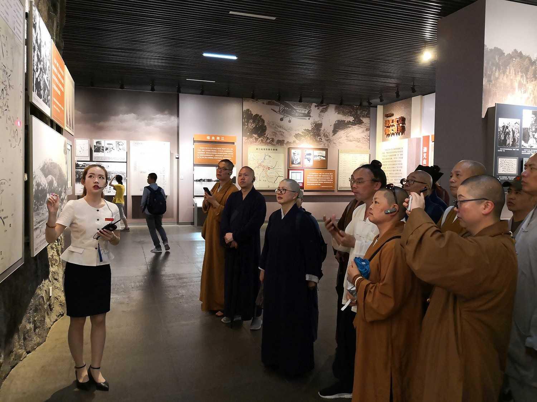温州佛道教联合组织开展红色之旅爱国教育活动