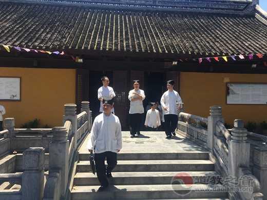 上海市道协来苏州城隍庙交流参访