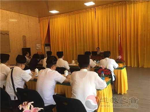 """苏州市道教协会开展""""四进""""宫观参访学习活动"""