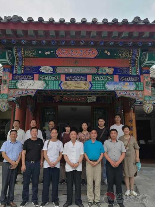 镇江、淮安两地道协赴河北、北京开展爱国主义教育活动