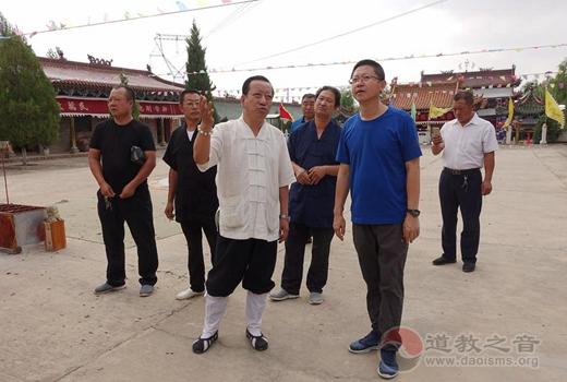陕西榆阳道协要求三清观加快生态道观建设步伐