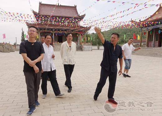 陕西榆阳道协要求把大墩山老爷庙会办成蒙汉团结的盛会_庙会-道教-榆林市-汉传-汉民