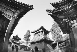 牛街礼拜寺内古建筑群